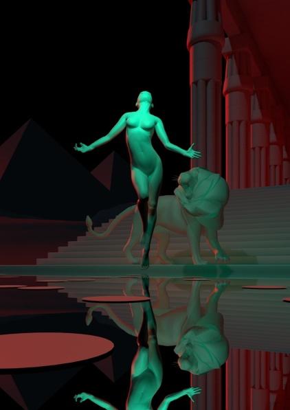 ... Delphi sembra aver vinto i suoi timori. Essere l'eroina di un romanzo fantasy le ha fatto dimenticare qualcosa?